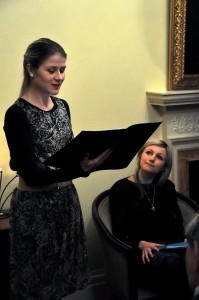 Małgorzata Rusiecka oraz Aneta Piotrowska. Fot. Magdalena Czubińska