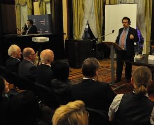 Richard Blakeway, zastępca burmistrza Londynu, podsumował sytuację polskich emigrantów w Londynie / Fot. Magdalena Czubińska