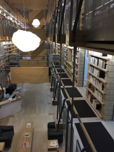 Biblioteka w Montricher. Fot. W Klas 2015-10-10